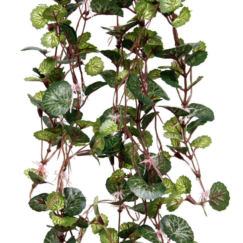 Pelagoniumranke d.-grün, 278 Blätter mini, Länge 40cm, Ranke, Hänger