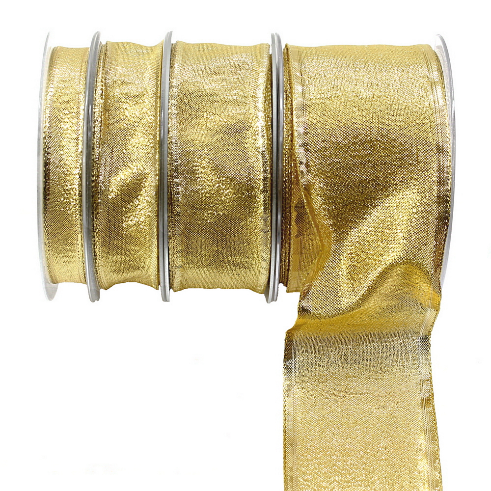 Brokatband gold, 25 Meter mit Draht, Brokat Lurexband, diverse !!!